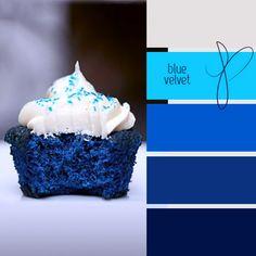 blue velvet always messes with my head. Colour Pallette, Colour Schemes, Color Combos, Design Seeds, Colour Board, World Of Color, Color Inspiration, Interior Inspiration, Blue Velvet