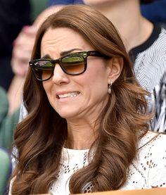 Kate Middleton Makes Hilarious Faces at Wimbledon: Pictures - Us ...