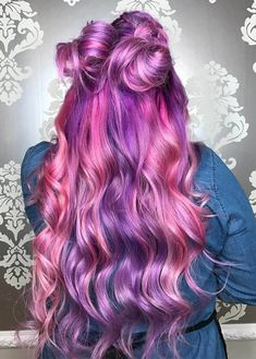 Hair Inspo, Hair Inspiration, Peekaboo Hair Colors, Hair Reference, Coloured Hair, Dream Hair, Rainbow Hair, Cool Hair Color, Healthy Recipes