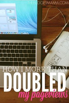 Wondering how to increase your pageviews and your revenues? This is how I more than doubled my pageviews in a little over a month.