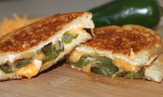Jalapeño Popper Grilled Cheese...heaven!!