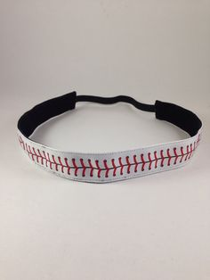 Baseball Stitching non-slip headband for everyday and active wear on Etsy, $8.00