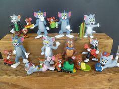 12  figurines figures figuren figuras PVC  tom jerry comic spain  | Toys & Hobbies, Action Figures, Other Action Figures | eBay!