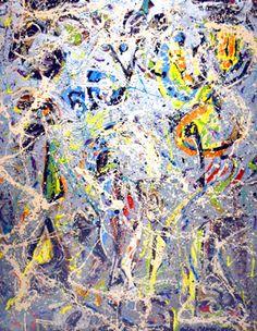 Jackson Pollock, Galaxy, 1947