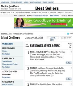 NY Times Advice Bestsellers