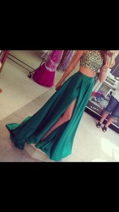 Stunning emerald green Sherri Hill Gown. Worn once. Still have original Sherri Hill box and tags. Style is currently sold out. Don't let this get away!