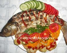 Празничные рыбные салаты
