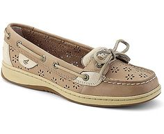 cd5cc52897 Sperry Top-Sider Angelfish Floral Perf Leather Boat Shoe-- LOVE THESE Sperry  Top