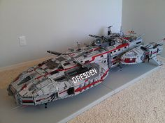 Dresden Weapons out by LegoSpaceGuy, via Flickr