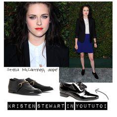 Kristen Stewart con mocassini di Stella McCartney. Arriva il dupe firmato Yoututoi!