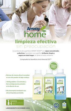 Novedades Amway - ¡LANZAMIENTO! Ya se encuentra DISPONIBLE la Línea de Limpieza LOC Amway Home
