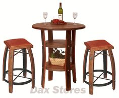Wine Barrel Furniture from Dax is a great way to show your wine love.