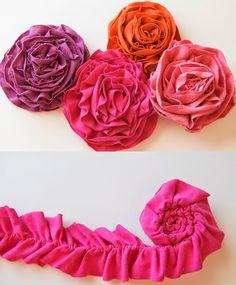 Jolany pearls: Veidojam auduma ziediņus!