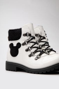 Trzewiki Mickey&Friends CS-AW2035DSTC Biały - CCC.eu Mickey And Friends, Timberland Boots, Shoes, Fashion, Moda, Zapatos, Shoes Outlet, Fashion Styles, Shoe