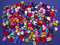An alternative to yellow moon etc to investigate when we're looking Jumbo Rhinestones - Big Value Pack Craft Supplies, Jewels & Gems,  childrens crafts, kids craft supplies, children's craft kits