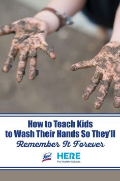 How to Teach Kids to Wash Their Hands So They'll Remember It Forever—Use these fun ideas and activities to teach proper handwashing technique so it sticks!