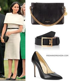 14 Jun 2018 - What Meghan wore in Cheshire