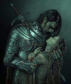Sansa and The Hound