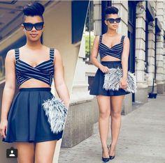 Seen on Instagram @makeafricaproud_ : Carmen Alexandra