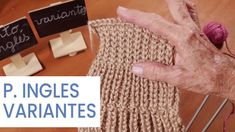 Puntos Tejer dos agujas ➜ Punto Inglés (variantes) ➜ Aprender a #tejer Knitting Stitches, Baby Kids, Kids Fashion, Projects To Try, Diy Crafts, Blog, Youtube, Knitting Patterns, Easy Knitting Patterns