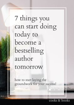 7 Ways to Become a Bestselling Author