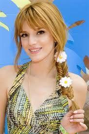 Bella thorne's braid with flowers !!