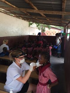 """The """"Tooth fairies"""" in Gambia using Suprabeam products in their work. Helping the children with dental care. Work In Africa, Race Around The World, Outdoor Pictures, Tooth Fairy, Dental Care, Fairies, Charity, Real Life, Children"""