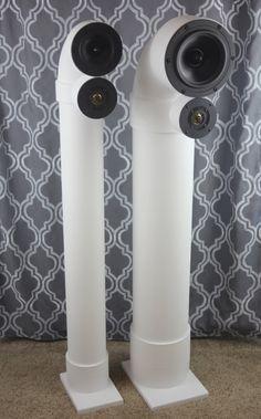 Benutzerdefinierte Lautsprecher - PVC-Rohr-Kanal-Lautsprecher, die klingen großartig!