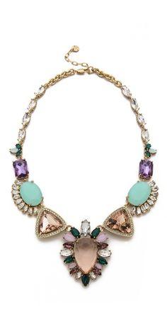 Juicy Couture Oversized Gemstone Drama Necklace   SHOPBOP