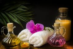 Free Image on Pixabay - Wellness, Carafe, Towels, White Bougie Bio, Bougie Rose, Orchid Plants, Orchids, Orchid Wallpaper, Massage Dos, Red Color Background, Remedial Massage, Health And Wellness Center