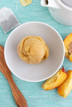 Peach Bergamot Sorbet - Scoop Adventures