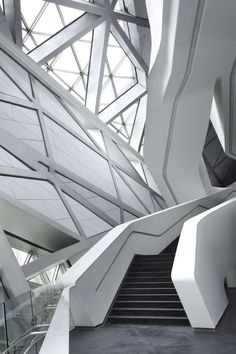 Diseñada por Zaha Hadid, construida con HI-MACS®: Guangzhou Opera House de Zaha Hadid en China