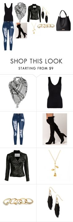 """""""girls day out"""" by bmeade57 on Polyvore featuring Hanro, GUESS and Sandy Hyun"""