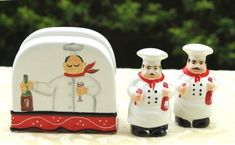 Tuscany Colorful Plump Bistro Chef Hand Painted Napkin, Salt & Pepper Shakers Set of 3pcs, 89128 by ACK ACK http://www.amazon.com/dp/B0071PHLEU/ref=cm_sw_r_pi_dp_zb8bub1N5PZ4K