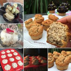 Muffins veganos de platano. – SweetFran