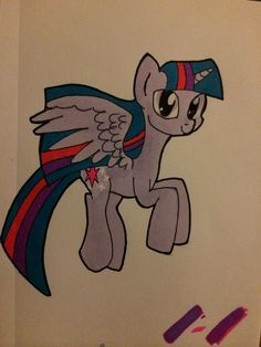 Copic and ink Princess Twilight Sparkle fan art I drew Cosmic Comics, Princess Twilight Sparkle, Mlp Fan Art, Copic, My Little Pony, Disney Characters, Fictional Characters, How To Draw Hands, Animation