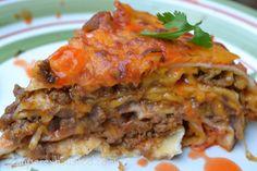 Easy Taco Lasagna your family will love #McCormickTacoNight #sponsored
