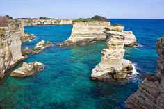 Torre Sant'Andrea, Adriatic sea; town of Melendugno, Province of Lecce, Italy
