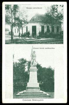 Böhönye Hangya szövetkezet. Elesett hősök emlékszobra, 1927.   Képcsarnok   Hungaricana