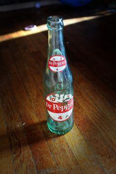 Old Dr Pepper Bottle