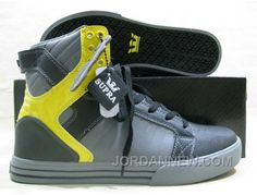 http://www.jordannew.com/supra-chad-muska-skytop-black-grey-yellow-leather-authentic.html SUPRA CHAD MUSKA SKYTOP BLACK GREY YELLOW LEATHER AUTHENTIC Only $58.97 , Free Shipping!