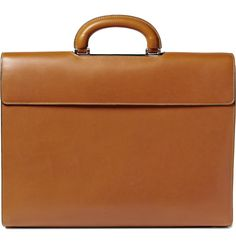 Perfect -- Valextra Leather Diplomatic Bag | MR PORTER
