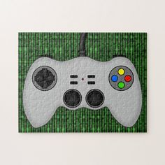 Shop Cool Video Game Controller Vector in Grey Jigsaw Puzzle created by ArtformTheHeart. Soccer Video Games, Foster Home For Imaginary Friends, Team Building Activities, Animation Reference, Gross Motor Skills, Mind Games, Game Controller, Dog Bowtie, Video Game Console