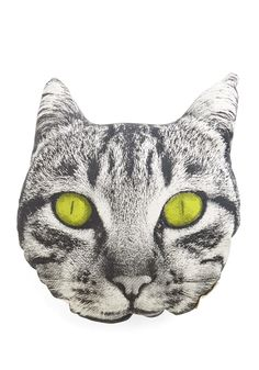 Cutest Cat Nap Pillow. Feeling the need for some downtime? #multi #modcloth