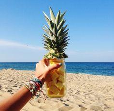 Pineapple and sunshine!