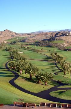 Salobre Golf Resort, Gran Canaria, Canary Islands, Spain.