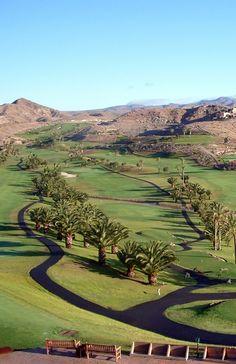 Salobre Golf Resort, Gran Canaria, Canary Islands, Spain.