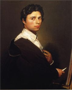 Self-Portrait at the Age of 24, 1804  Jean Auguste Dominique Ingres