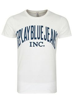 51c84e8dc1f6 Replay Logo T-Shirt, from the iconic Italian jeans wear brand Replay.  Featuring