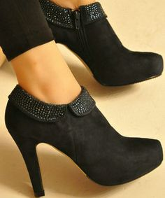 Fall 2012 French woman boots rhinestones decoration super comfortable ankle boots boots women high heels